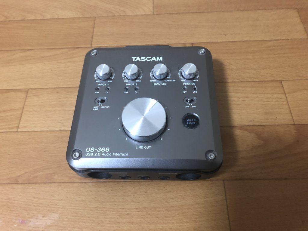 TASCAM オーディオインターフェイス DSPミキサー搭載 96/192kHz対応