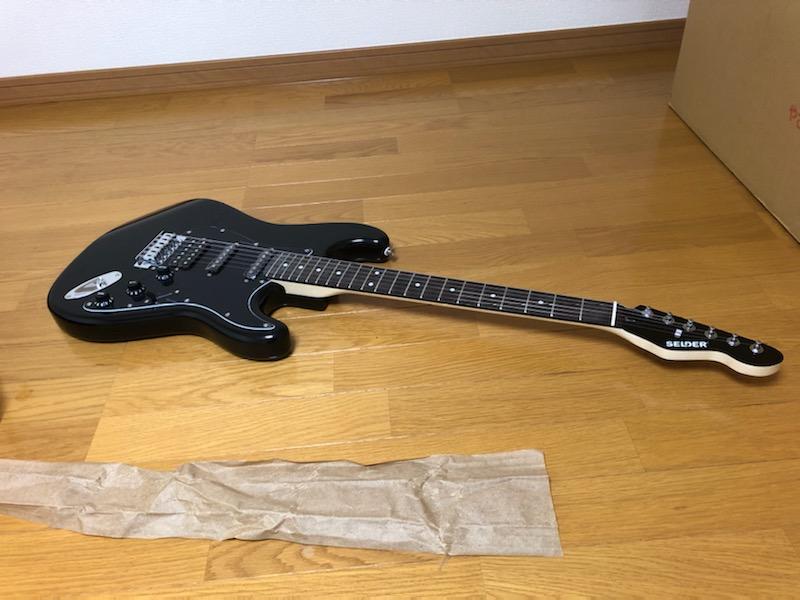 selder(セルダー)のギターの梱包状態